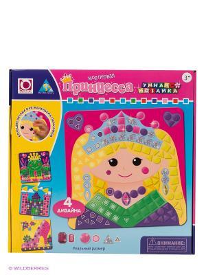 Мозаика Принцессы, 4 шт. The ORB factory. Цвет: розовый, голубой, желтый