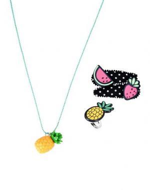 Ожерелье POP CUTIE. Цвет: зеленый