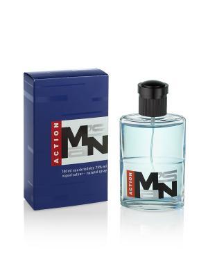 Т/в MANs action муж  100 мл Parfums Louis Armand. Цвет: голубой