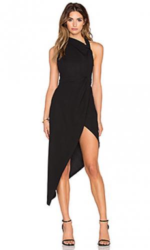 Платье dark love RISE OF DAWN. Цвет: черный