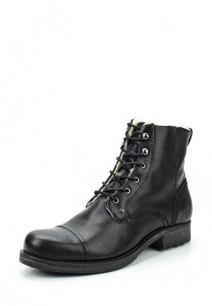 Ботинки Mustang. Цвет: черный