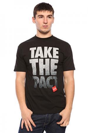 Футболка  Take Pact Baker. Цвет: черный