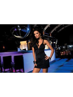 Платье Каприз. Цвет: черный