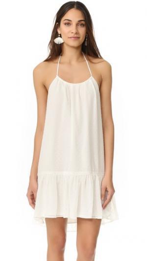 Пляжное платье Caribe 6 Shore Road by Pooja. Цвет: белый лунный свет