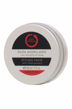 Моделирующая паста для волос с экстрактом алоэ Styling Paste, 50ml Aldo Coppola. Цвет: multicolor