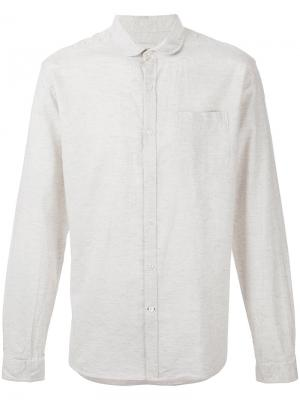 Round collar shirt Oliver Spencer. Цвет: телесный