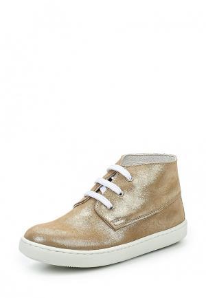 Ботинки Barritos. Цвет: золотой
