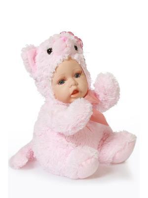 Кукла интерьерная Тигренок DAVANA. Цвет: розовый