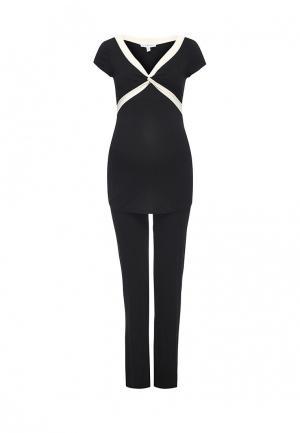 Пижама Envie de Fraise. Цвет: черный