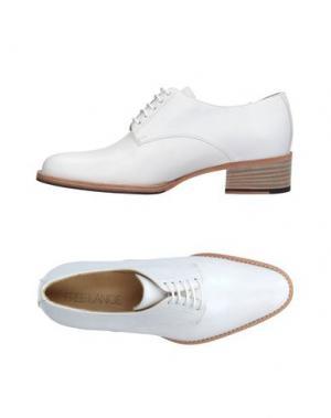 Обувь на шнурках FREE LANCE. Цвет: белый