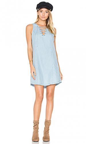 Мини платье gilbert BB Dakota. Цвет: синий
