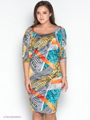 Платье МадаМ Т. Цвет: бирюзовый, серый, бежевый, красный, черный