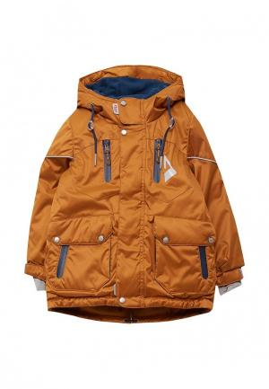 Куртка Oldos. Цвет: коричневый