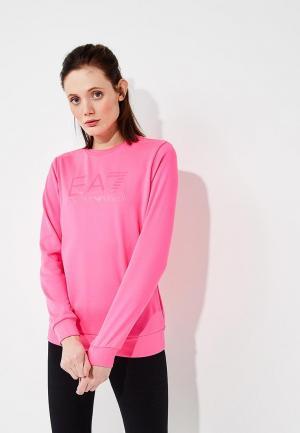 Свитшот EA7. Цвет: розовый