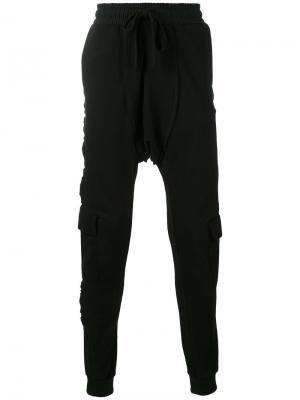Спортивные брюки Brit Blood Brother. Цвет: чёрный