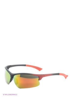 Солнцезащитные очки Vita pelle. Цвет: красный, оранжевый