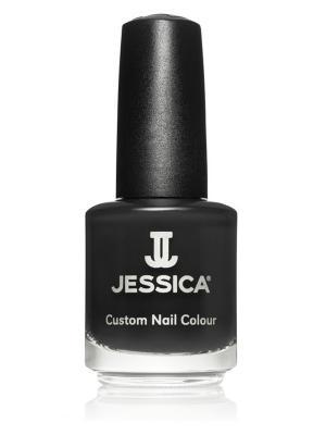 Лак для ногтей  #712 Creamy Caramel, 14,8 мл JESSICA. Цвет: черный