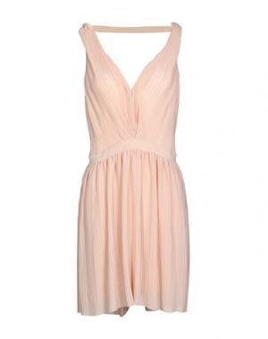 Короткое платье MAJE. Цвет: светло-розовый