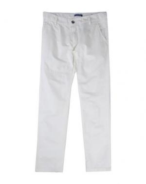 Повседневные брюки COTTON BELT. Цвет: белый