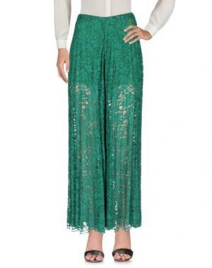 Повседневные брюки LAFTY LIE. Цвет: зеленый