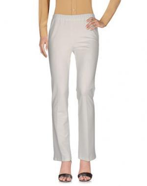 Повседневные брюки 1-ONE. Цвет: белый