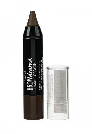 Карандаш-стик для бровей Maybelline New York. Цвет: коричневый