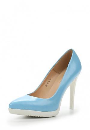 Туфли Dino Ricci Select. Цвет: голубой