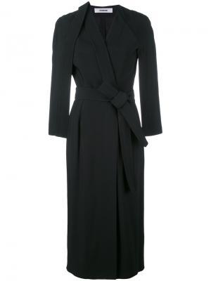Платье с запахом judo Chalayan. Цвет: чёрный