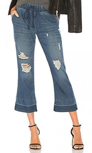 Укороченные расклешенные брюки Bella Dahl. Цвет: синий