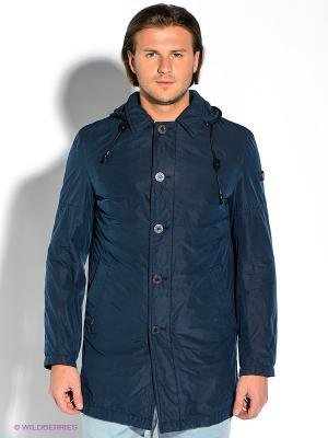 Пальто Strellson. Цвет: синий