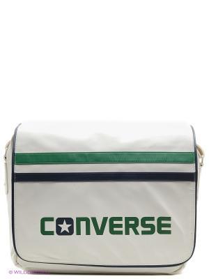 Сумка с плечевым ремнем Flapbag Converse. Цвет: белый