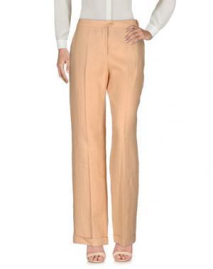 Повседневные брюки MALO. Цвет: абрикосовый