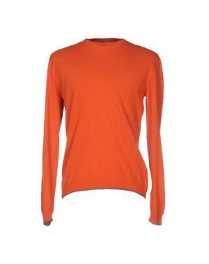 Свитер MAESTRAMI. Цвет: оранжевый
