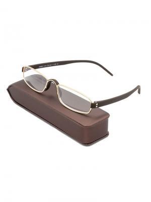 Очки +1.0 с футляром (для чтения) 746-C12 Grand. Цвет: темно-коричневый