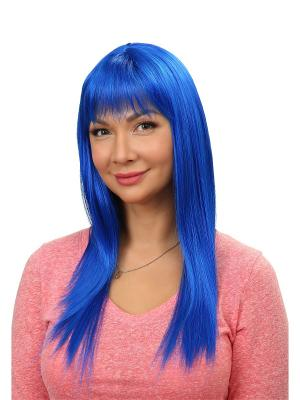 Карнавальный парик Sirena VIP-PARIK. Цвет: синий