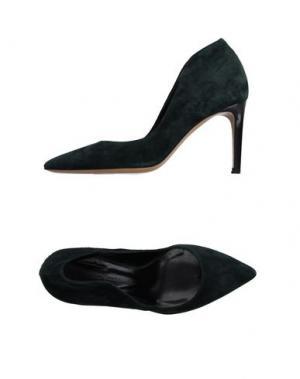 Туфли FAUZIAN JEUNESSE. Цвет: темно-зеленый