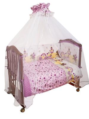 Комплект Золушка Сонный гномик. Цвет: розовый