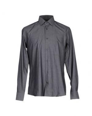 Pубашка HERMAN & SONS. Цвет: стальной серый