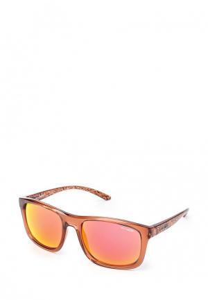 Очки солнцезащитные Arnette. Цвет: красный