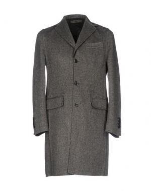 Пальто U-NI-TY. Цвет: свинцово-серый