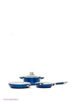 Набор кухонной посуды Vitesse. Цвет: синий