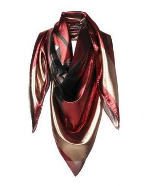 Платок LANVIN. Цвет: красно-коричневый