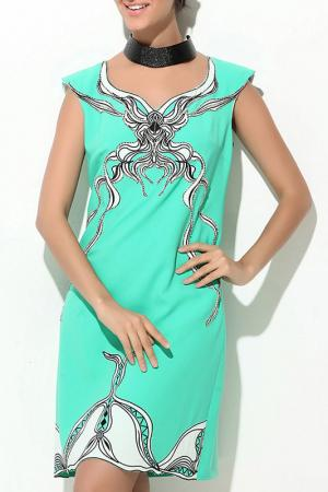 Платье Ludomara fashion. Цвет: зеленый