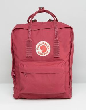 Fjallraven Классический сливовый рюкзак Kanken. Цвет: фиолетовый