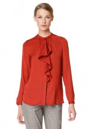 Блуза pompa. Цвет: оранжевый