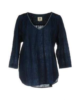Блузка BSBEE. Цвет: синий