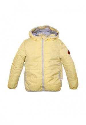 Куртка утепленная Zukka. Цвет: желтый