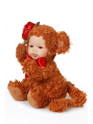 Кукла интерьерная Обезьянка . DAVANA. Цвет: коричневый