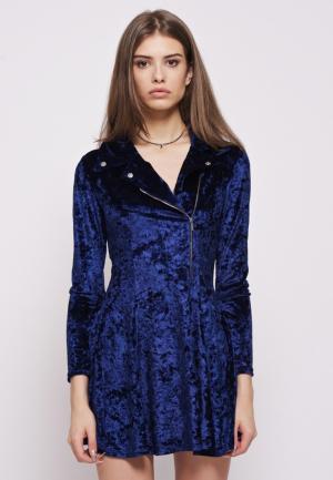 Платье iSwag. Цвет: синий
