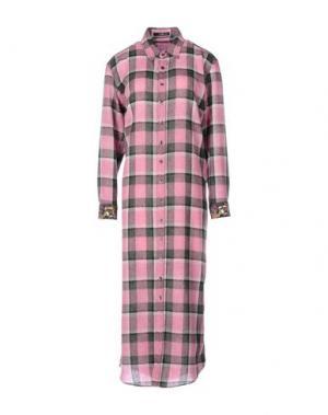 Длинное платье ETRO. Цвет: пастельно-розовый